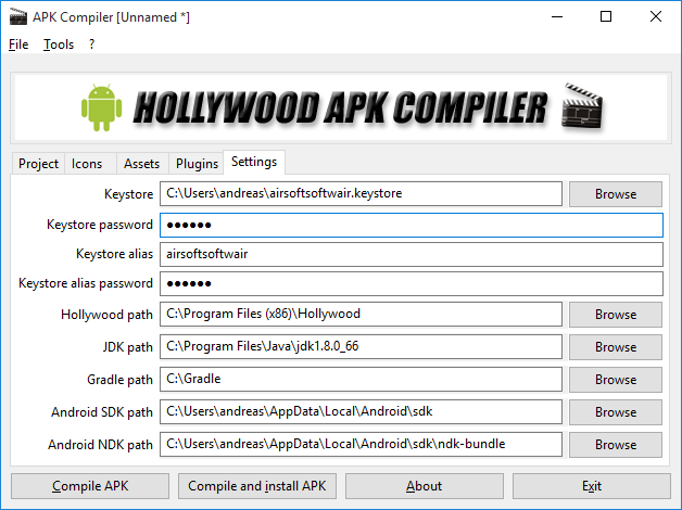 Hollywood APK Compiler 1 0 released - Hollywood forums